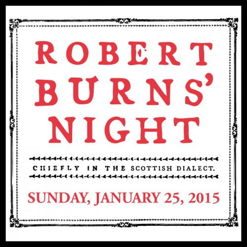 Robert Burn's Night