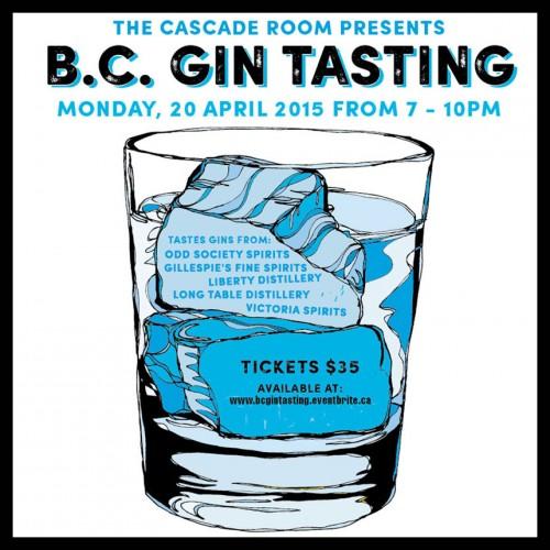 B.C. Gin Tasting
