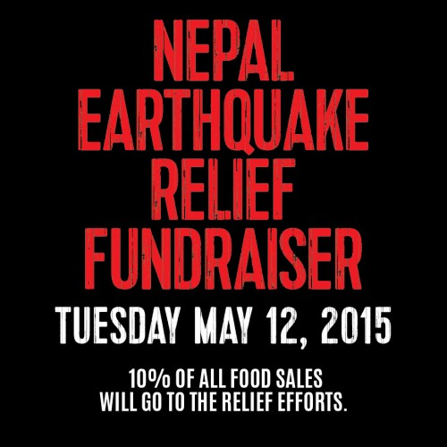 Nepal Earthquake Relief Fundraiser