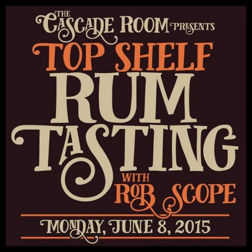 Top Shelf Rum Tasting