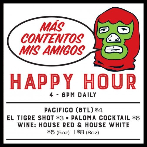 El Camino's Happy Hour