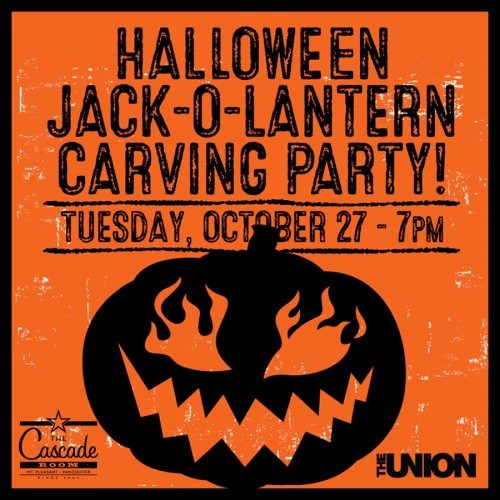 HALLOWEEN CARVING PARTY