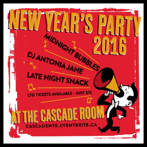 NEW YEAR'S EVE PARTY 2016