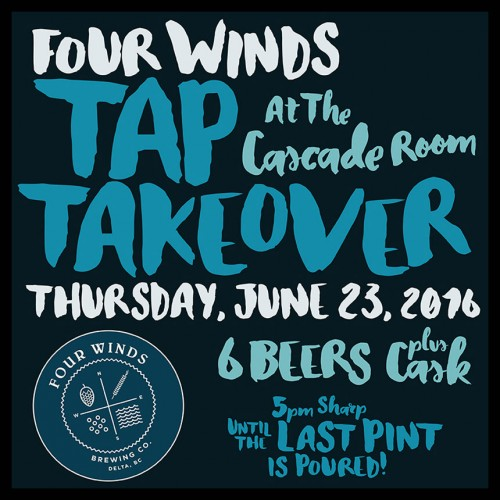 Four Winds Tap Takeover