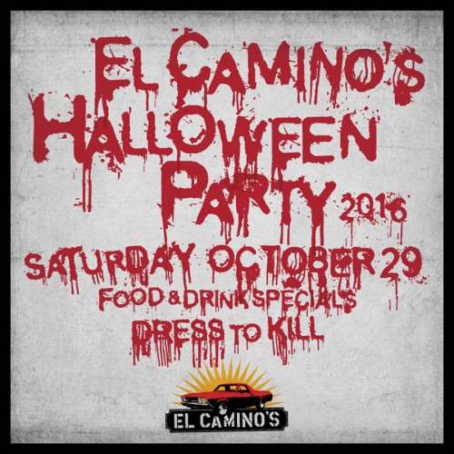 El Camino's Halloween Party
