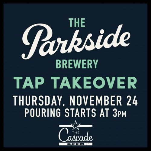 THE PARKSIDE BREWERY TAP TAKEOVER