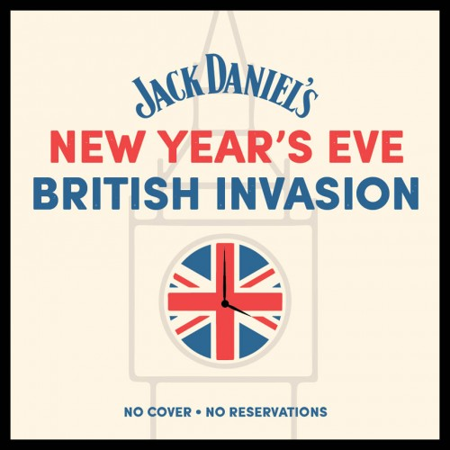 JACK DANIEL'S NEW YEAR'S EVE BRITISH INVASION