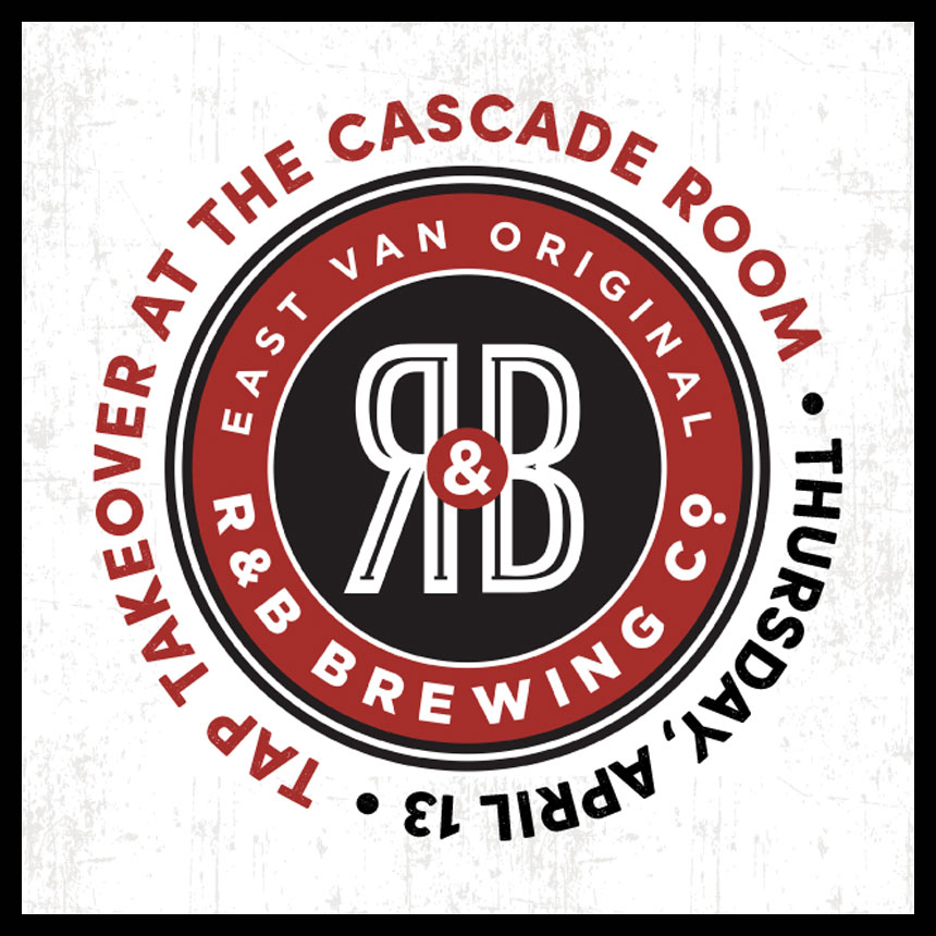 R&B BREWING TAP TAKEOVER