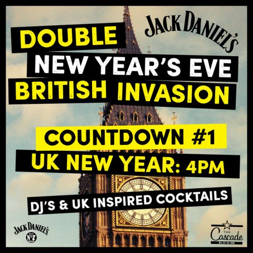 DOUBLE NEW YEAR'S EVE BRITISH INVASION - COUNTDOWN #1