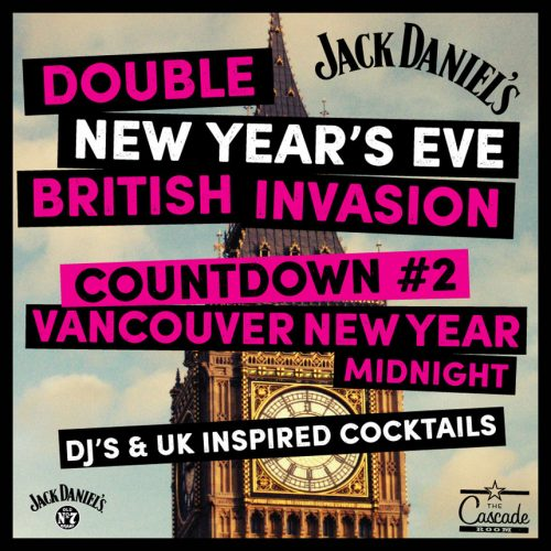 DOUBLE NEW YEAR'S EVE BRITISH INVASION – COUNTDOWN #2