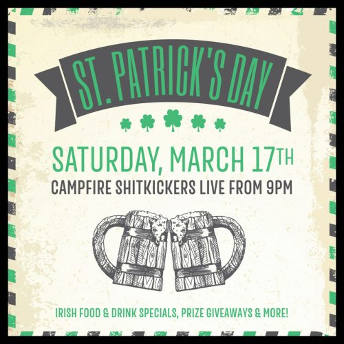 ST PATRICK'S DAY AT THE CASCADE ROOM