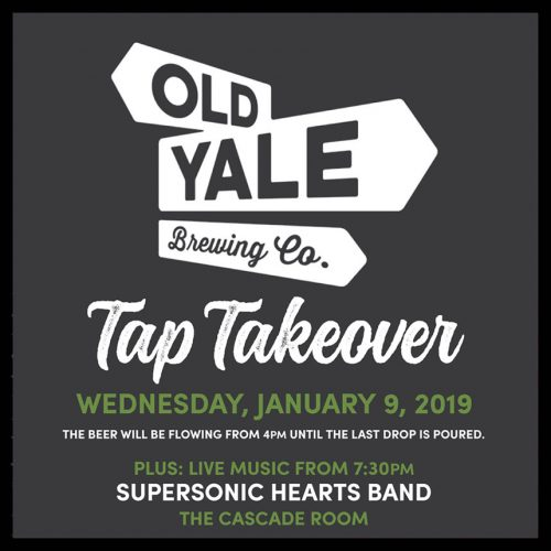 OLD YALE BREWING TAP TAKEOVER