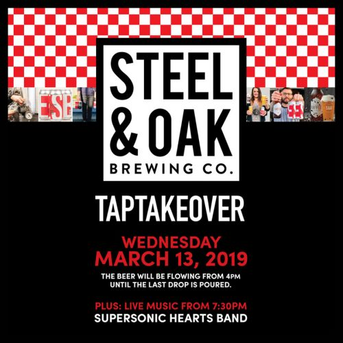 STEEL & OAK BREWING TAP TAKEOVER